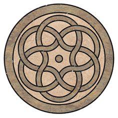 Celtic Feature Luxury Vinyl, Celtic, Design Inspiration, Flooring, Layout Inspiration, Hardwood Floor, Floor, Paving Stones