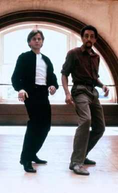 """Mikhail Baryshnikov and Gregory Hines in """"White Nights"""" (1985). COUNTRY: United States. DIRECTOR: Taylor Hackford."""