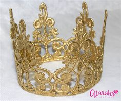 Gold crown Cake topper / Crown Cake Topper / Cake Topper Photo