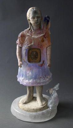 Christina Bothwell Mixed Media Sculpture, Sculpture Art, Sculptures, Broken Doll, Collections Of Objects, Alternative Art, Contemporary Sculpture, Creepy Dolls, Glass Ceramic