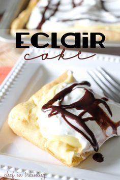 Eclair Cake, #Cake, #Easy