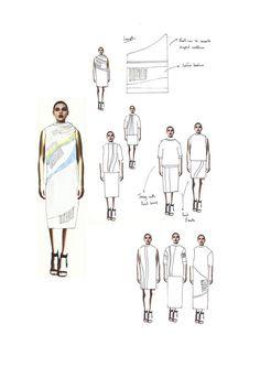 Fashion Design Sketchbook - fashion collection development; fashion drawings; fashion portfolio // Mary-Emma Brooks