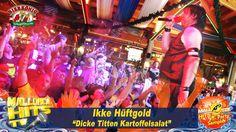 """Ikke Hüftgold mit """"""""Dicke Titten Kartoffelsalat"""""""" beim Mallorca Opening 2015 im Bierkönig. Mallotze Hits 2015: http://mallorcahitstv.de/mallotze-hits/ http://mallorcahitstv.de/2015/06/ikke-hueftgold-dicke-titten-kartoffelsalat-mallorca-2015/"""