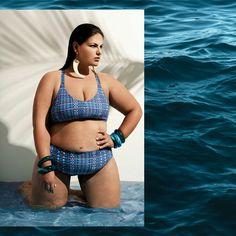 Porque diva que é diva sabe que tem estilo até na água! Conheça nossas novidades de moda praia  www.juliaplus.com.br #modapraiaplussize #modapraia #biquiniplussize #verão #praia #piscina #plussize #modaplussize #lojavirtual #JuliaPlus