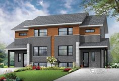 1000 Images About Builder House Plans Multi Family Home