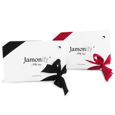 new PATA NEGRA BOX. you choose: red or black?  http://www.jamonify.com/en/home/8-pata-negra-box.html #braille #glutenfree #jamonify #ibericham