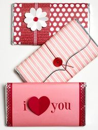 Say 'I Love You' with Candy - Plus 28 other Valentine's Craft Ideas! Great ideas! Possibly use for Moms Group Craft day! :)