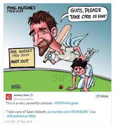 The world reacts to Phillip Hughes' death Sydney Cricket Ground, Shock Wave, Steve Smith, Unusual Animals, Fraternity, Death, Australia, World, Memes