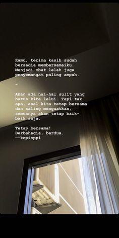 #kopioppi #quotes #quotesindonesia #katakata #katacewek #katagalau #katahati #patahhati #cinta #bicarahati #isihati #galau Quotes Rindu, Tumblr Quotes, Text Quotes, Qoutes, Life Quotes, Cinta Quotes, Free Filters, Meaningful Pictures, Quotes Galau