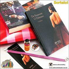 ALEGRIA DE VIVER E AMAR O QUE É BOM!!: [DIVULGAÇÃO DE SORTEIOS] - Sorteio de Livros!