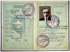 K. Cavafy's passport