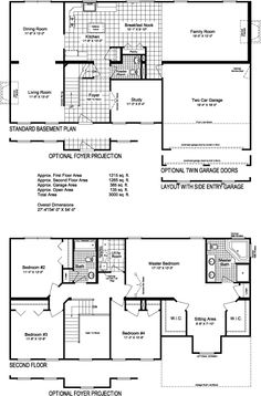 Two Story House Plans 4 bedroom floor plans two story Modular Home Plans Ranch Cape Cod Two Story Multi Family