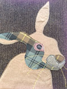 Hare I am! Adorable hare cushion from Rosie's Craft Shop, Hare, Workshop, Cushions, Kids Rugs, Handmade, Gifts, Design, Decor
