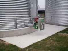 Sukup Powersweep Unload on Grain Bin - Built by Devolder Farms