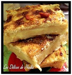 La KARENTIKA ou KALENTIKA est une spécialité de la cuisine algérienne. Recette est à base de farine de pois chiches. Facile et inratable avec l'aspect d'un flan Quiche, French Toast, Sandwiches, Breakfast, Ramadan, Food, Florence, Brick, Pizza