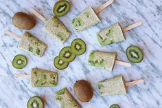 Polos de kiwi y leche de coco (helados saludables) Kiwi, Avocado Toast, Instagram, Breakfast, Videos, Milk Cans, Coconut Milk, Coconut Water, Healthy Ice Cream