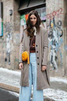 The perfect pop of color... - Street Style