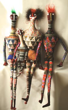 Pedro Torneo (Shades of Ndebele dolls)