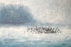 Vuelo · Óleo sobre lienzo | 150 x 100 cm. | 2014