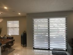 Zebra Illusion Privacy Shades by Elite Decor Miami Window Blinds, Blinds For Windows, Privacy Shades, Window Treatments, Illusion, Miami, Curtains, Home Decor, Blinds