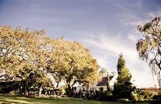 Cape Winelands wedding venue: Hawksmoor House.  Cape Dutch architecture at its best!