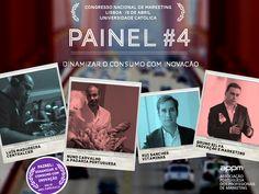 Painel #4 - Dinamizar o Consumo com Inovação - Congresso Nacional de Marketing. www.appmsnm.com