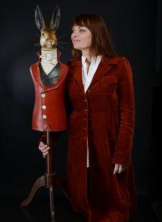 Mélanie Bourlon, Artiste-Sculpteur - Sculpture, Objet de hasard, cabinet de curiosités - Papier Mâché, Paper - 38 630 Les Avenières - France