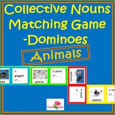 A collective noun is a noun that refers to a group of persons, animals, places or things. This is a collection of animal collective nouns. It conta... $3.00