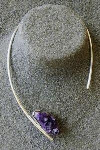 Unique Jewelry for Women Purple Jewelry, Copper Jewelry, Wire Jewelry, Pendant Jewelry, Jewelry Art, Gemstone Jewelry, Jewelery, Jewelry Necklaces, Jewelry Design