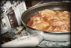 Blog de recetas de cocina casera para todos los días. Gluten Free Recipes, Healthy Recipes, Spanish Food, French Toast, Pork, Food And Drink, Menu, Fish, Cooking