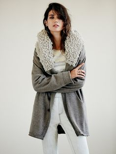 Free People Of The Flock Hooded Jacket at Free People Clothing Boutique