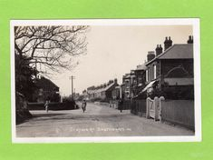 Station Road Snettisham RP pc used 1923 Ref D581 | eBay
