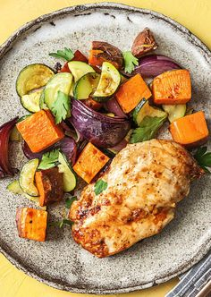 Easy chicken recipe with a homemade honey-mustard sauce   More healthy kid-friendly meals on hellofresh.com