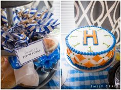 Little Blue Truck birthday party theme; 1st birthday party theme