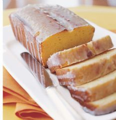 Ina Garten's healthy lemon pound cake, using yogurt instead of butter