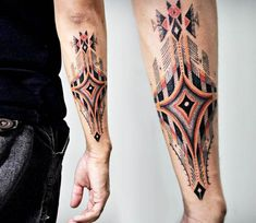 Color Symbol tattoo by John Monteiro