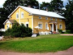 Koivula Manor House in Lohja Finland by My Moon.