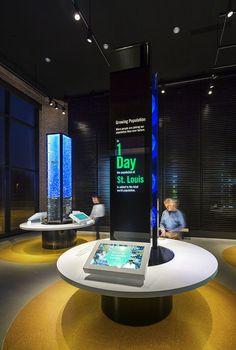 Monsanto Chesterfield Corporate Exhibit Exhibition Design, Graphic Design, Interaction Design