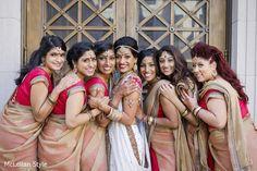 Bridal Party http://www.maharaniweddings.com/gallery/photo/55902
