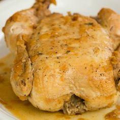 Crock-Pot Roast Chicken Recipe | Brown Eyed Baker