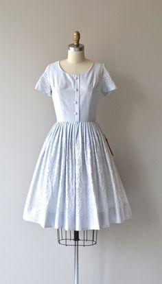 Best Laid Plans dress vintage 1950s dress cotton by DearGolden