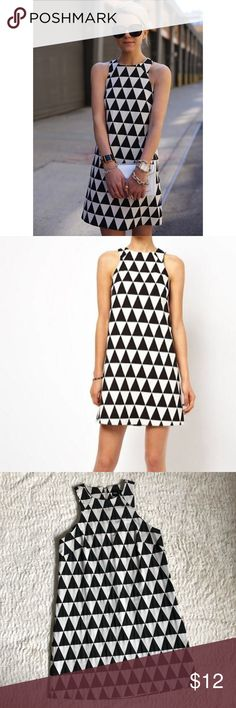 a3dd23b66b ASOS Shift Dress in Triangle Jacquard Super cute and very stylish! This  dress is made