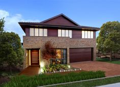 Sekisui Display Homes: Aurora Collection - Luzia. Visit www.localbuilders.com.au/display_homes_nsw.htm for all display homes in New South Wales