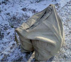 Recreation of 14th c. Martebo sack.