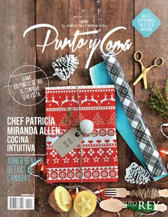 magazine cover #christmasdesign