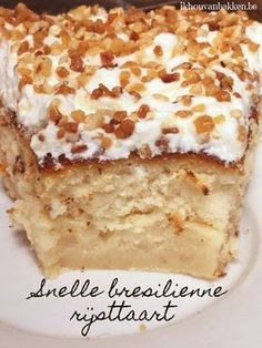 No Bake Desserts, Delicious Desserts, Dessert Recipes, Yummy Food, Pie Cake, No Bake Cake, Cake Cookies, Cupcake Cakes, Sweets