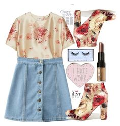 """121"" by erohina-d ❤ liked on Polyvore featuring beauty, Vilshenko, Liliana, Bobbi Brown Cosmetics and Huda Beauty"