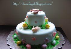 Easter cross cake