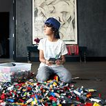 might need a Lay n Go toy storage mat from Little Choux! ; At home with Athena Calderone & Jivan