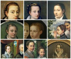 Italian Braids and Curls - AMAZING post about Italian hair, TONS of period pictures and she shows how she does it on her own hair and it comes out BEAUTIFULLY!  - Morgan Donner's sewing party